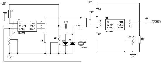 32k 晶振振荡器电路图
