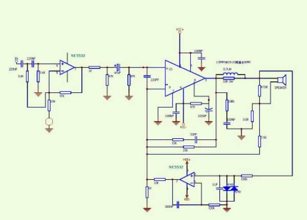 lm3886并联电路图