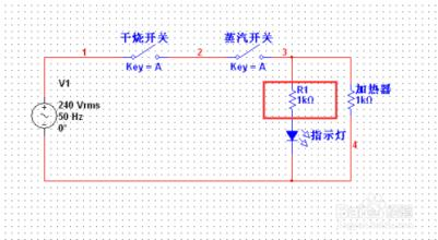保温电热水壶电路图
