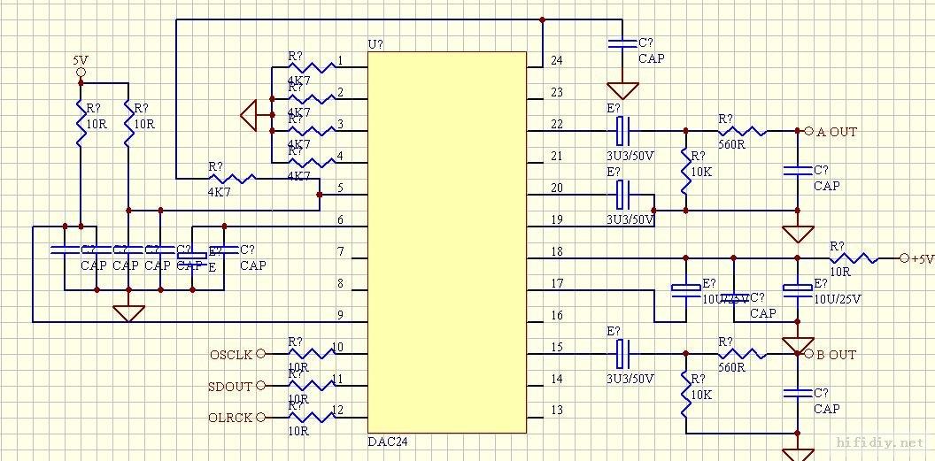 cs8416 电路图