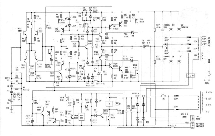 电路 电路图 电子 乐谱 曲谱 原理图 690_436