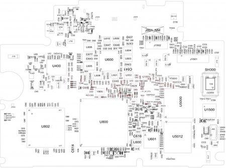 小米2手机电路图