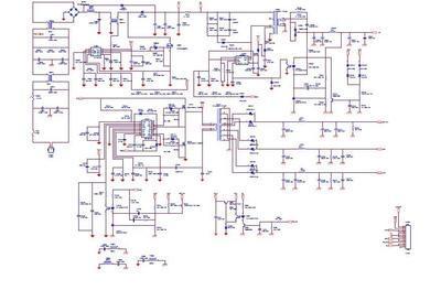 三洋电视29寸电路图
