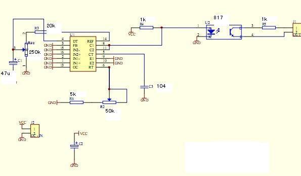 单硅后级电路图