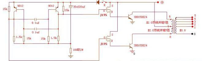 自激机电路图