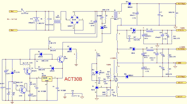 viper17l电路图tcl