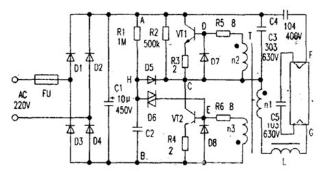 比亚乔整流器电路图