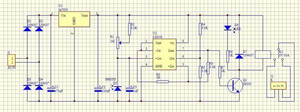 电路 电路图 电子 原理图 600_225
