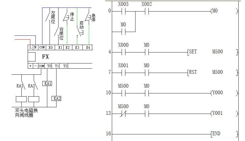气缸自动化控制电路图