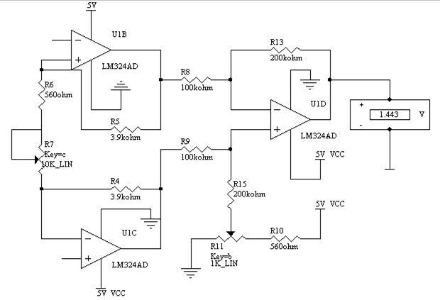 电子听诊器电路图