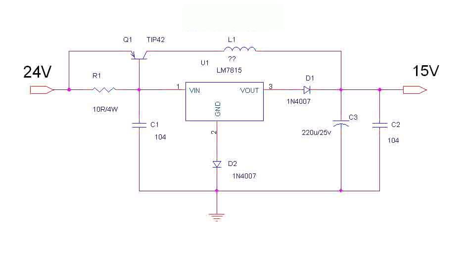 7812扩流电路图