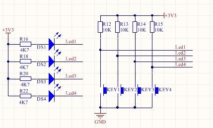 发光二极管电路图符号
