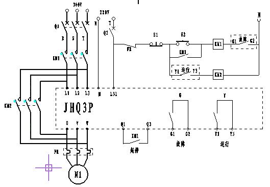 电动机软启动电路图