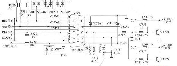戴尔显示器电路图