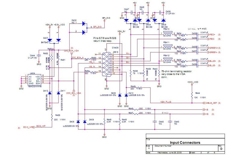 戴尔1901fp电路图