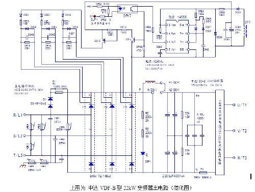台达变频器开关电源电路图