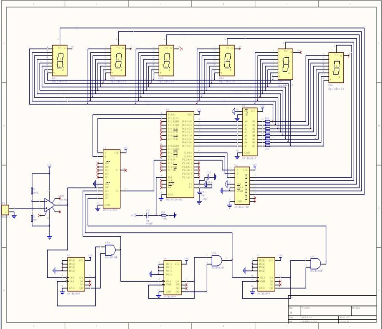数字频率计设计电路图