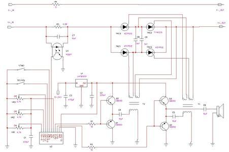 四硅后级混频电路图