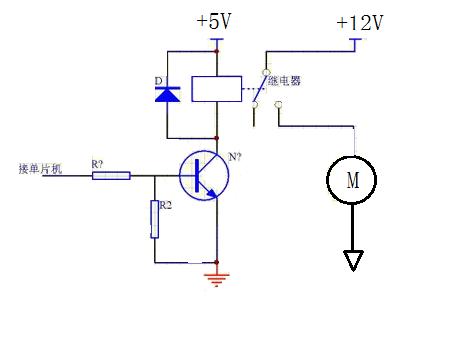 5脚5v继电器接线图