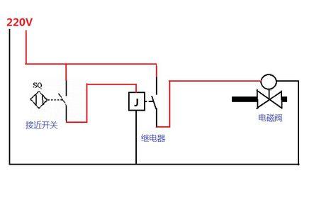 繼電器接近開關接線圖